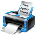 Print Agency License