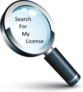 Search the SCDOI Database For My License
