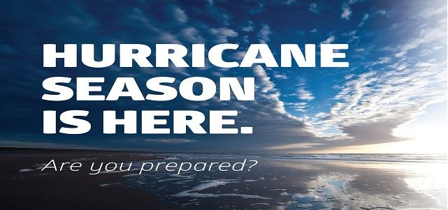 Hurricane season begins June 1, are you ready?