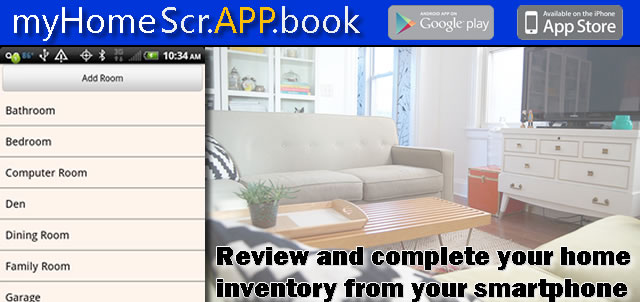 Home inventory mobile application